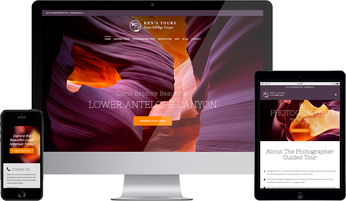 Lower Antelope: Website Redesign