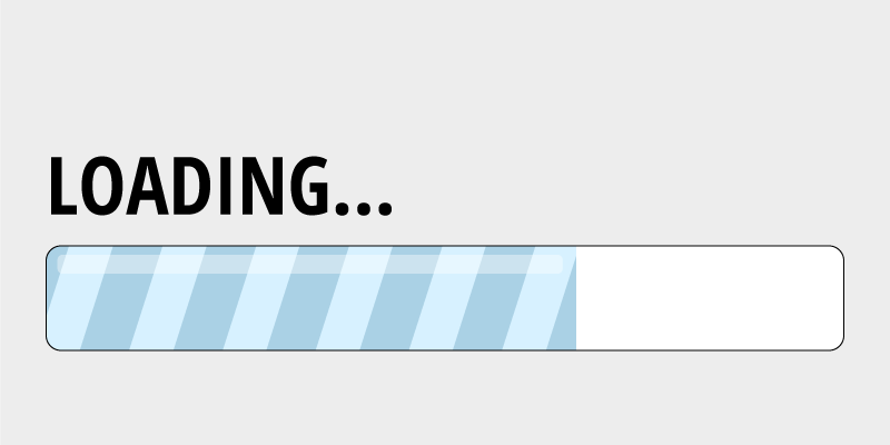 Loading Progress Bar.