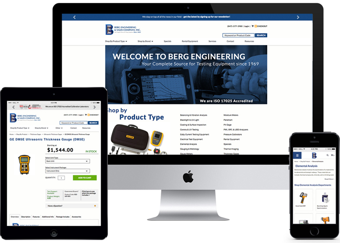 Berg Engineering Website