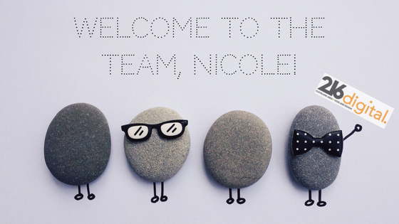 Welcome To The Team, Nicole.